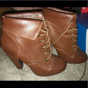 Brown Bamboo Booties ❤️